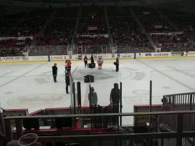 Bojangles' Coliseum, vak: 123, rij: G, stoel: 6
