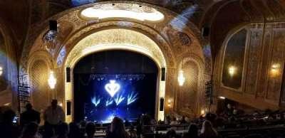 Paramount Theatre (Seattle), vak: 3rdmezz, rij: z, stoel: 2