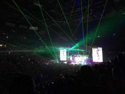 Nationwide Arena, vak: 106, rij: Y, stoel: 6