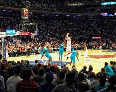 Madison Square Garden, vak: 104, rij: 3, stoel: 9