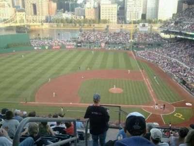 PNC Park, vak: 321, rij: Q, stoel: 24
