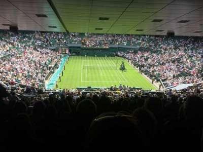 Wimbledon, Centre Court, vak: 511, rij: ZB, stoel: 210
