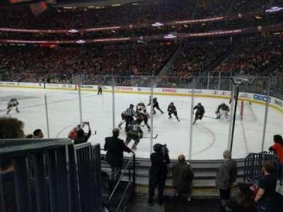 T-Mobile Arena, vak: 18, rij: F, stoel: 7