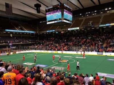 Royal Farms Arena, vak: 106, rij: k, stoel: 4