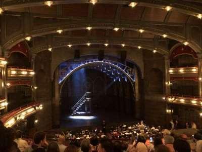 Lyric Theatre, vak: DressC, rij: G, stoel: 103