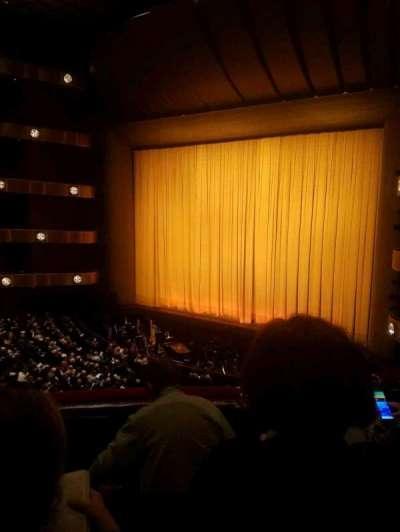David H. Koch Theater, vak: 2nd Ring, rij: C, stoel: 28
