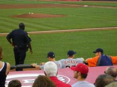 Great American Ball Park, vak: 116, rij: N