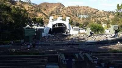 Hollywood Bowl, vak: U3, rij: 9, stoel: 1