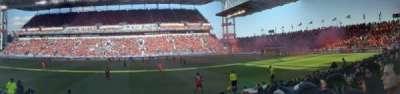 BMO Field, vak: 122, rij: 7, stoel: 28