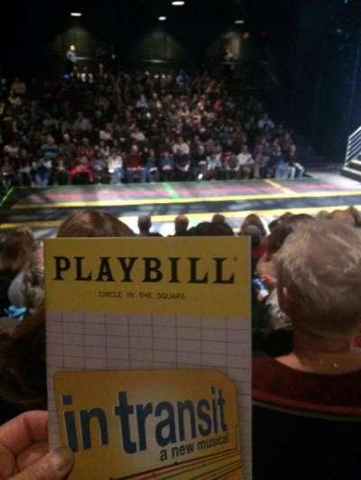 Circle in the Square Theatre, vak: Orch, rij: F, stoel: 222