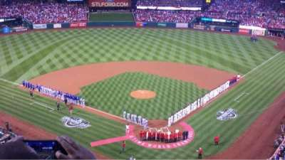 Busch Stadium, vak: 351, rij: 2, stoel: 11