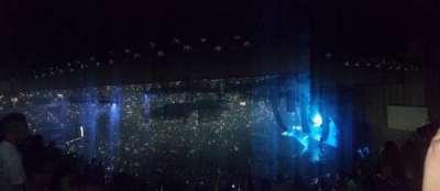 Royal Farms Arena, vak: 308, rij: H, stoel: 2