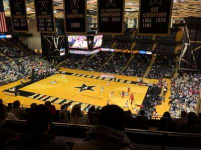 Memorial Gymnasium (Vanderbilt), vak: 3G, rij: 10, stoel: 6