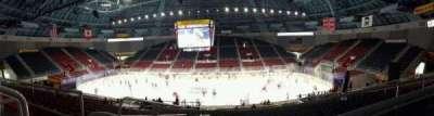 Bojangles' Coliseum, vak: 124, rij: AA, stoel: 12