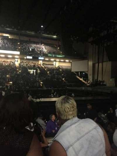 Royal Farms Arena, vak: 108, rij: D, stoel: 3