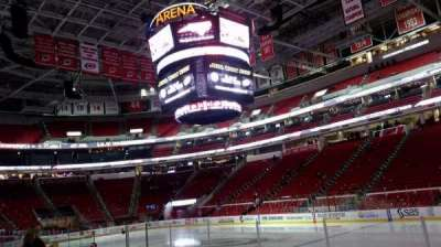 PNC Arena, vak: 101, rij: H, stoel: 3