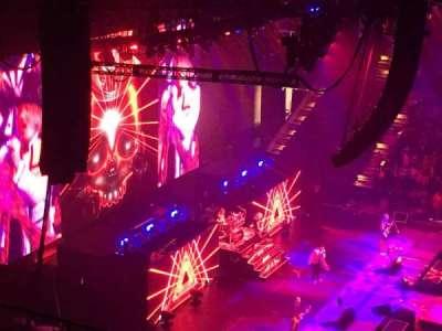 Royal Farms Arena, vak: 307, rij: K, stoel: 10
