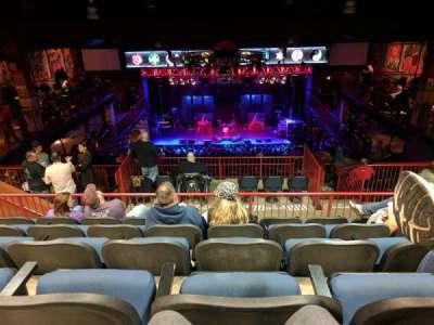 House Of Blues - Boston, vak: Stadium, rij: E, stoel: 312