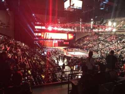 Royal Farms Arena, vak: 223, rij: D, stoel: 1
