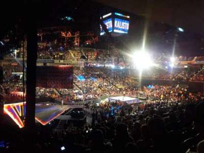 Royal Farms Arena, vak: 201, rij: J, stoel: 1