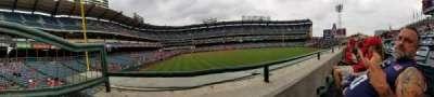 Angel Stadium, vak: P236, rij: A, stoel: 1