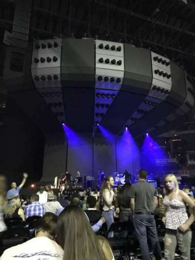 Capital One Arena, vak: 1, rij: O, stoel: 2