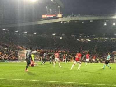 Old Trafford, vak: N1404, rij: BB, stoel: 226