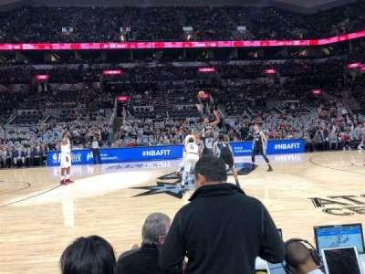 AT&T Center, vak: 24, rij: 4, stoel: 13