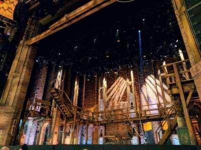 CIBC Theatre, vak: Orchestra-R, rij: F, stoel: 6