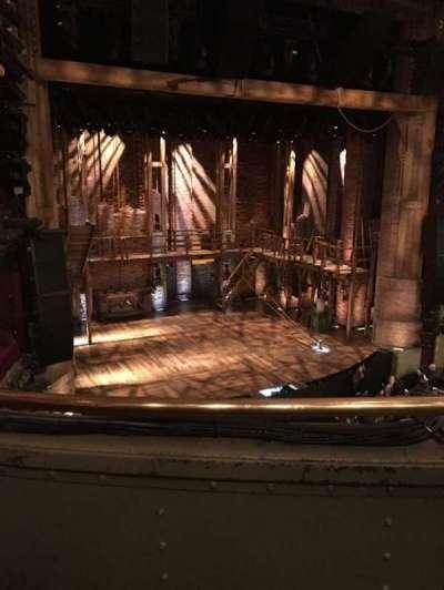 CIBC Theatre, vak: MEZZ-L, rij: B, stoel: 3