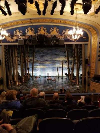 Gerald Schoenfeld Theatre, vak: Mezz, rij: G, stoel: 110