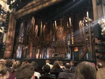 Victoria Palace Theatre, vak: stalls, rij: G, stoel: 10