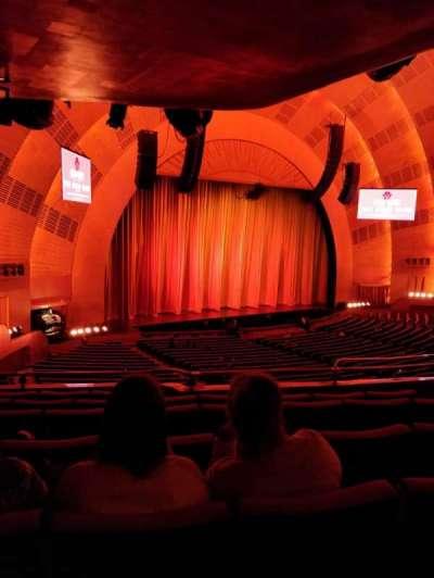 Radio City Music Hall, vak: 1st Mezz 7, rij: E, stoel: 709