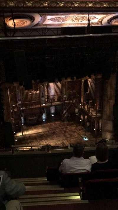 CIBC Theatre, vak: Balc-L, rij: F, stoel: 1