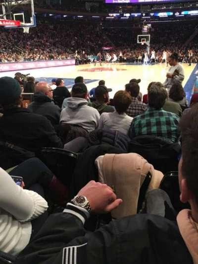 Madison Square Garden, vak: 9, rij: 5, stoel: 6