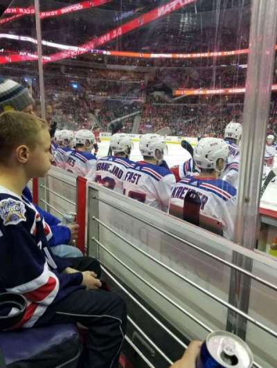 Capital One Arena, vak: 101, rij: C, stoel: 6