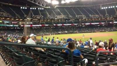 Chase Field, vak: 111, rij: 16, stoel: 20
