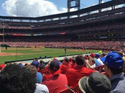 Busch Stadium, vak: 158, rij: 2, stoel: 11