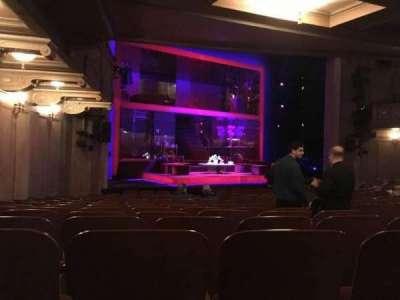 Booth Theatre, vak: Left Orchestra, rij: N, stoel: 11