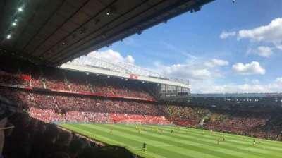Old Trafford, vak: Sir Alex Ferguson stand, rij: 14