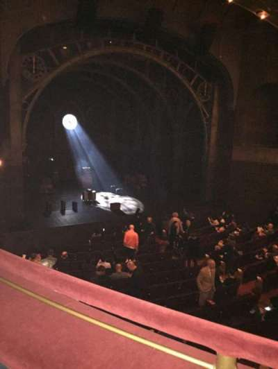 Lyric Theatre, vak: DressCircle, rij: A, stoel: 11