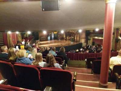 CIBC Theatre, vak: Dress Circle - Left, rij: G, stoel: 1and3