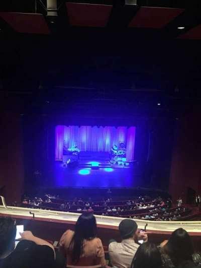 San Diego Civic Theatre, vak: Balcony, rij: T, stoel: 9