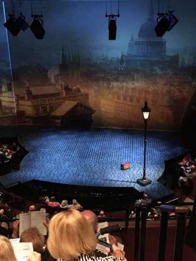 Vivian Beaumont Theater, vak: Loge, rij: D, stoel: 316