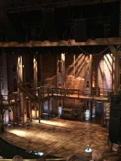 CIBC Theatre, vak: Mezz-R, rij: F, stoel: 16