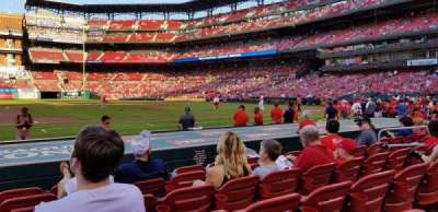 Busch Stadium, vak: 157, rij: F, stoel: 12