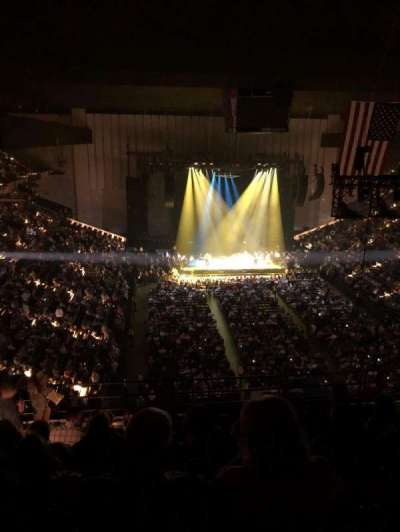 Royal Farms Arena, vak: 327, rij: K, stoel: 14