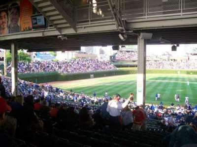 Wrigley Field, vak: 209, rij: 19, stoel: 7