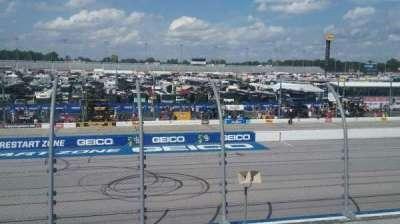 Darlington Raceway, vak: Wallace T, rij: 15, stoel: 25