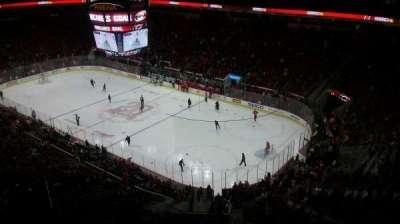 PNC Arena, vak: 319, rij: H, stoel: 10